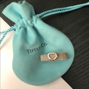Tiffany and Co. Heart Ring